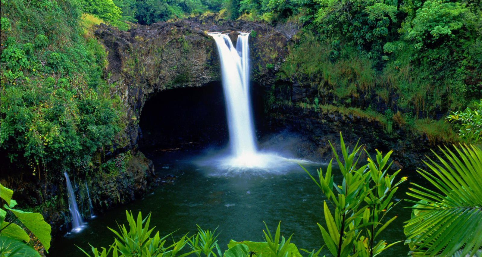 Rainbow Falls Hawaii Retreat