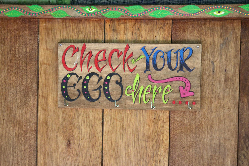 Check Your Ego Jungle Retreat