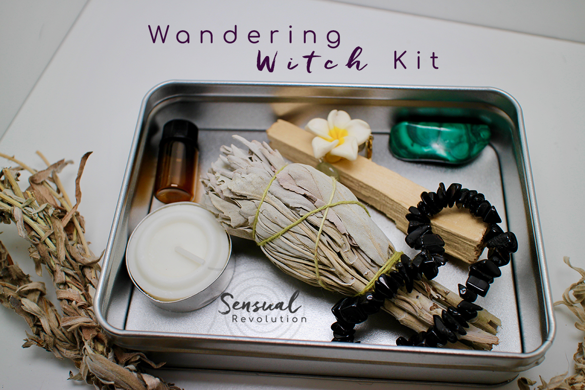 Holistic Travel Wandering Witch Kit